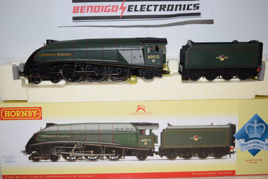 Hornby R2825 BR 4-6-2 CLASS A4 COMMONWEALTH OF AUSTRALIA 60012 LIMITED EDITION DCC READY