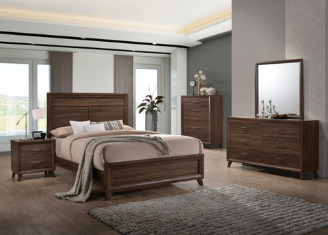 DARRYL B6930 RETRO MODERN 4PC QUEEN BEDROOM SET