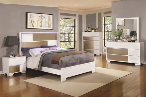 HAVERING 4 PCS QUEEN BED BEDROOM SET 204741
