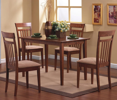 5-PIECE RECTANGULAR DINING TABLE SET 150430