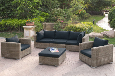 POUNDEX 414 6 PC OUTDOOR LIVING ROOM SET
