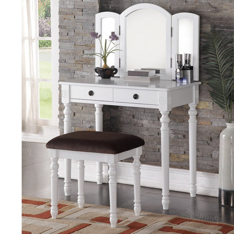 F4159 Vanity Set with Stool