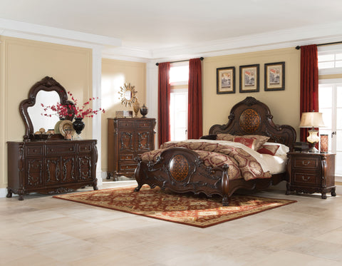 COASTER 204450 ABIGAIL 4PC QUEEN BEDROOM SET