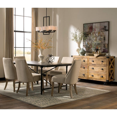 ANTONELLI 7 PCS DINING TABLE SET