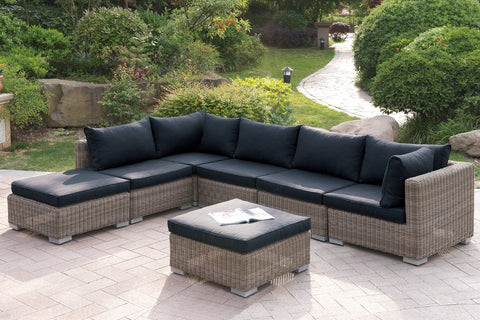 POUNDEX 419 7PC OUTDOOR SECTIONAL SET