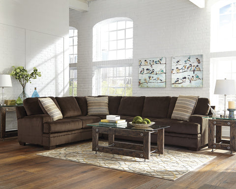 ROBION CHOCOLATE SECTIONAL