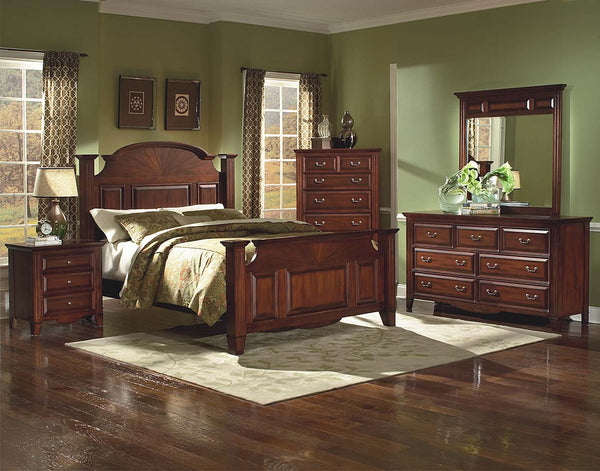 The Drayton Hall 4pc Queen Bedroom Set