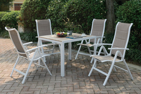 POUNDEX 255 5PC OUTDOOR DINING SET