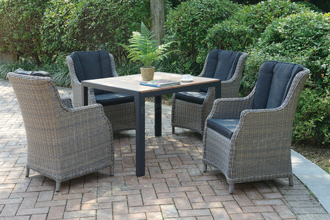 POUNDEX 259 5PC OUTDOOR DINING SET