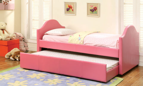FURNITURE OF AMERICA CM1959WH CRESSON DAYBED WITH TWIN TRUNDLE Other Colors Avail.