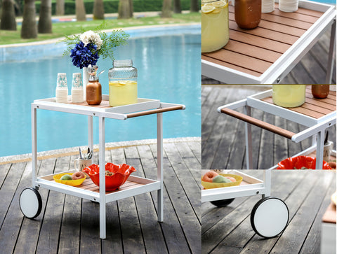 CM-OT2131 Kali Outdoor Serving Cart