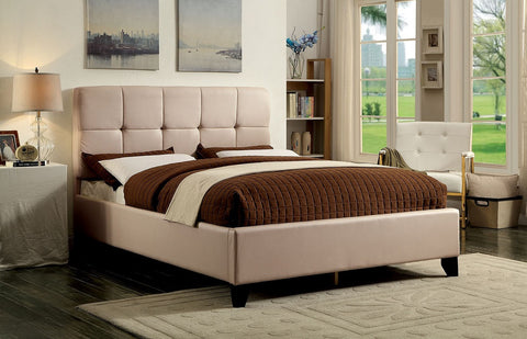 FURNITURE OF AMERICA CM7725BG CRESSIDA PLATFORM BED