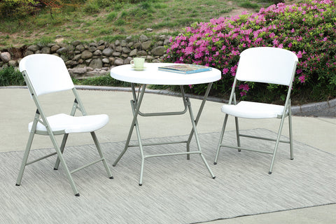 POUNDEX P50126 FOLD-ABLE OUTDOOR CHAIRS SET OF 6