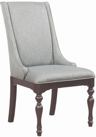 COASTER 107333 LEON DINING UPHOLSTERED CHAIR SET OF 2