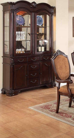 POUNDEX F6069 DINING BUFFET AND HUTCH