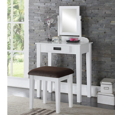 F4141 Vanity Set with Stool