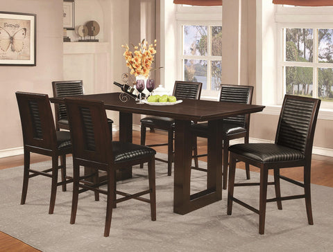 105728 Chester 7pc Counter Height Dining Set