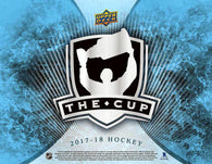 17-18 UPPER DECK THE CUP HOCKEY HOBBY 6-BOX CASE BREAK PYT # 50  PRE SELLING BREAKS FOR MASSIVE WEEKEND FRIDAY APRIL 5TH  HUGE WEEKEND TONS BREAKS