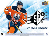 18-19 UPPER DECK SPx HOCKEY HOBBY 20-BOX MASTER CASE  6FF TWO 10 BOX CASES COMBINED