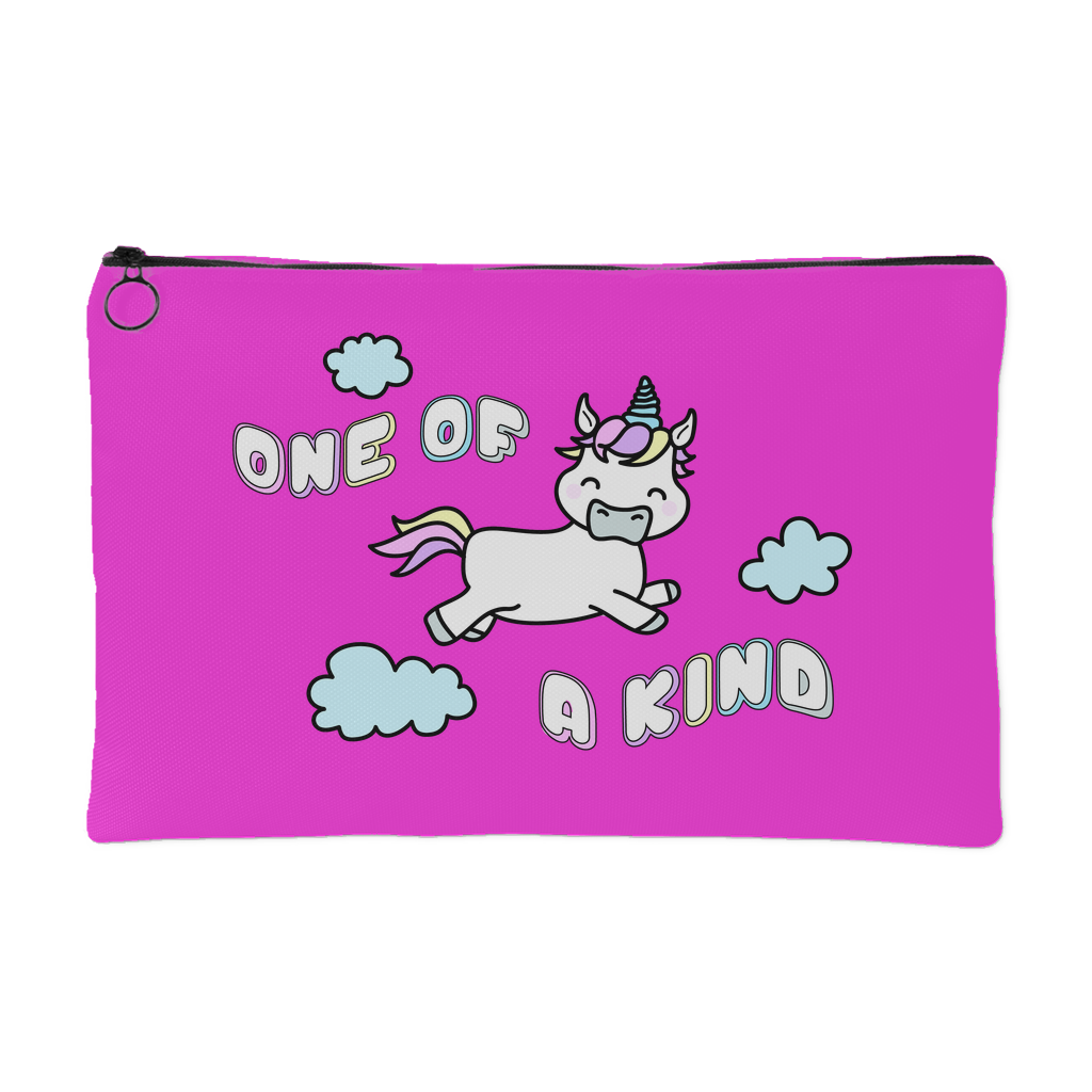 One Of A Kind Accessory Bag - Pink