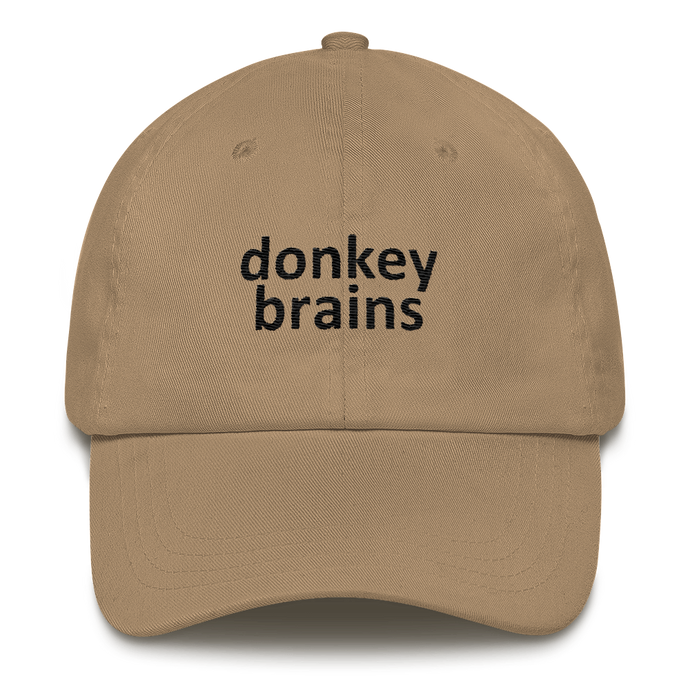 donkey brains hat
