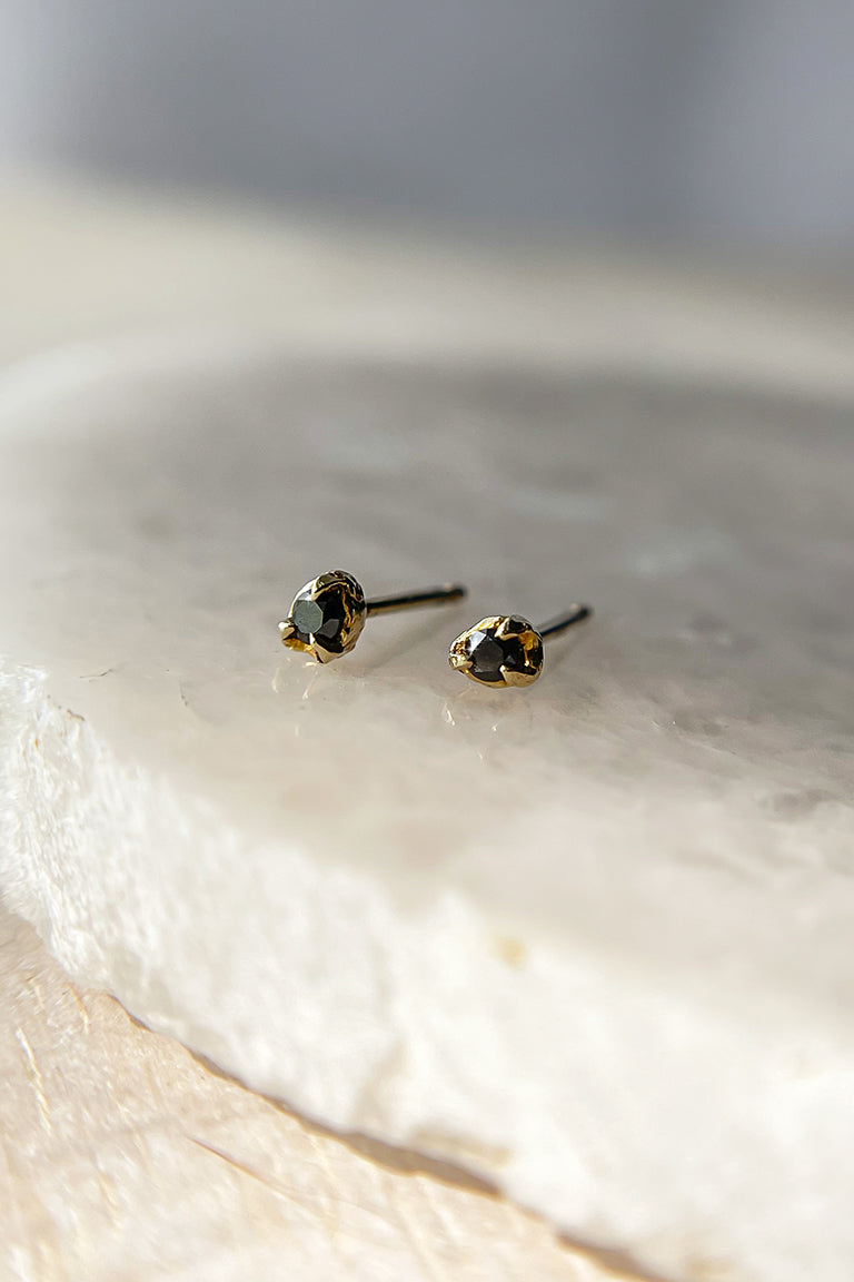 dainty-black-diamond-studs