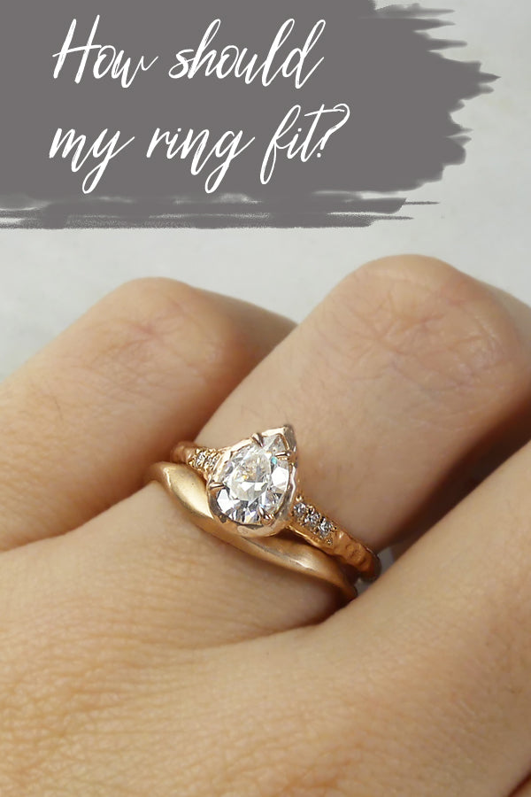 How should my wedding ring fit?