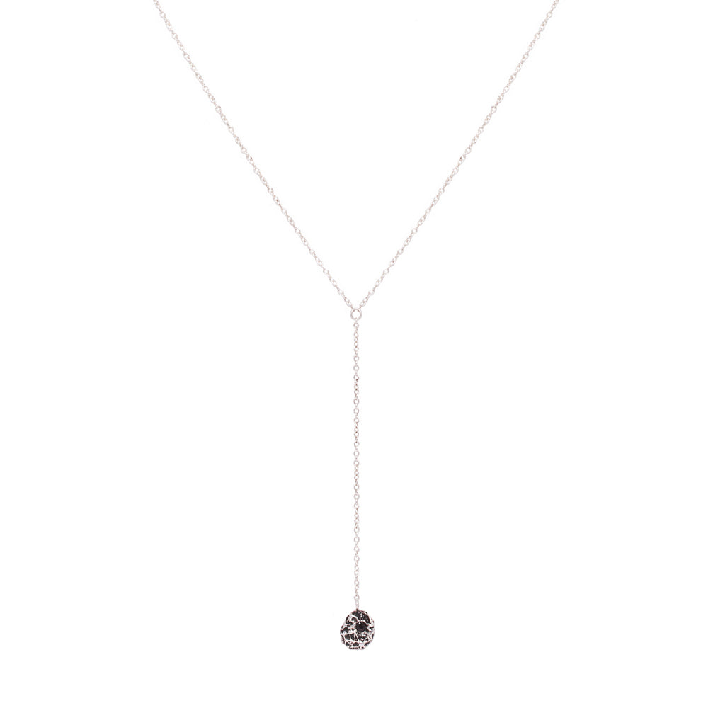 Pieces Lariat (Silver)