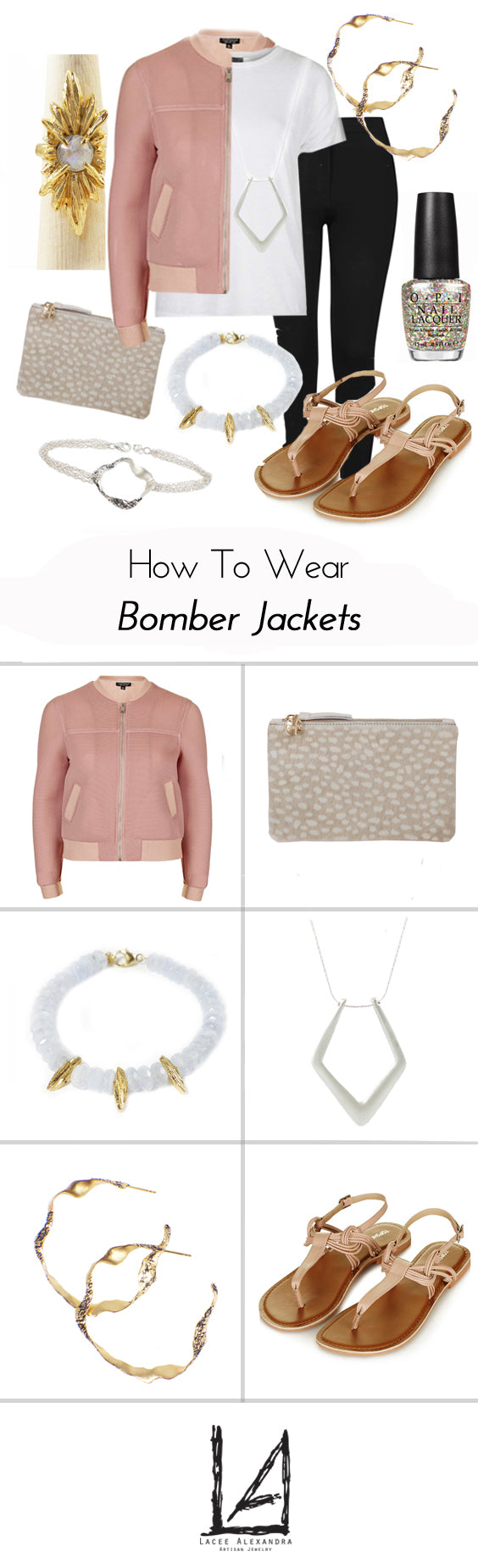 How To Wear Bomber Jackets with Lacee Alexandra, click for details!