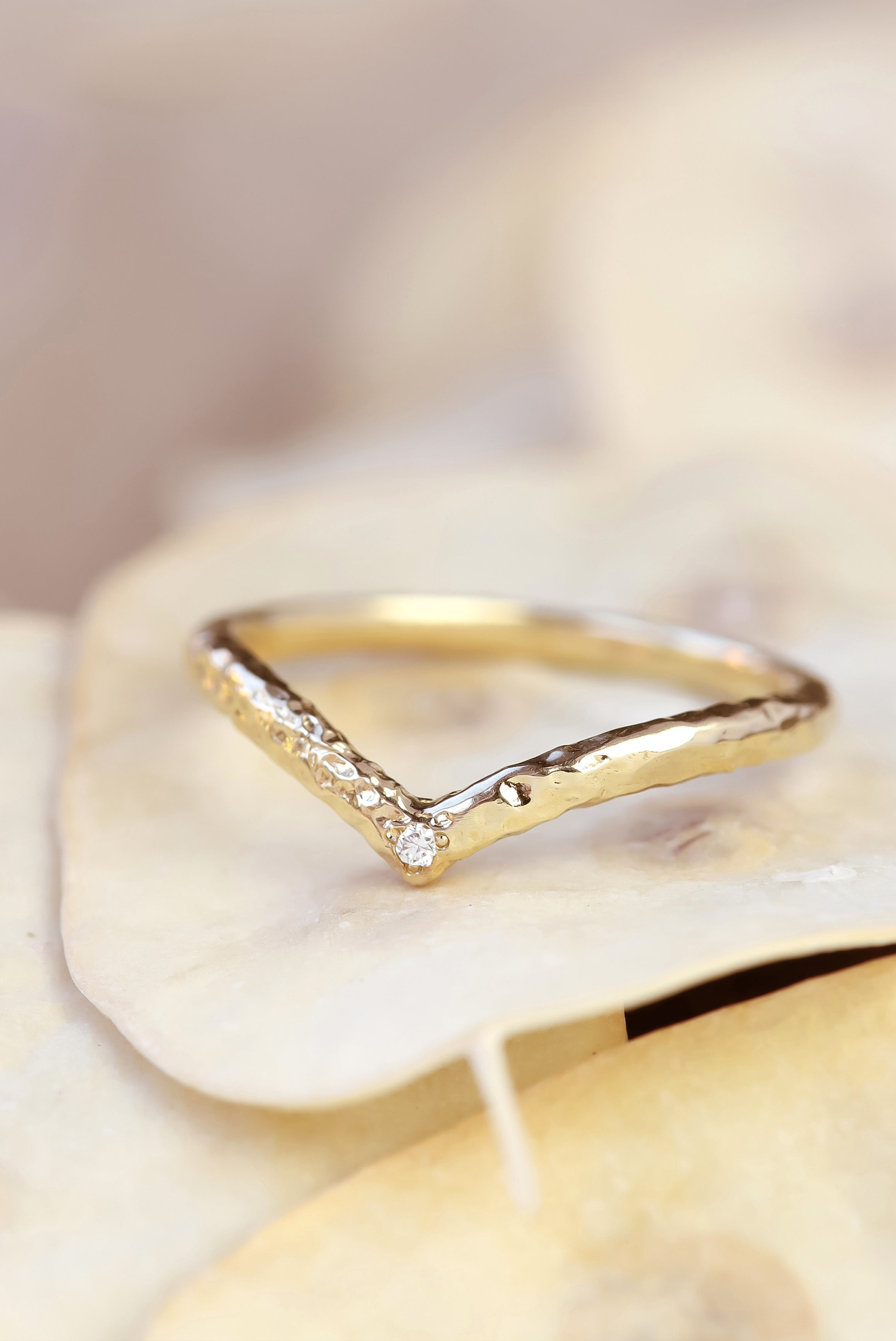 combat-dull-style-with-unique-diamond-stacking-rings-textured-chevron-ring
