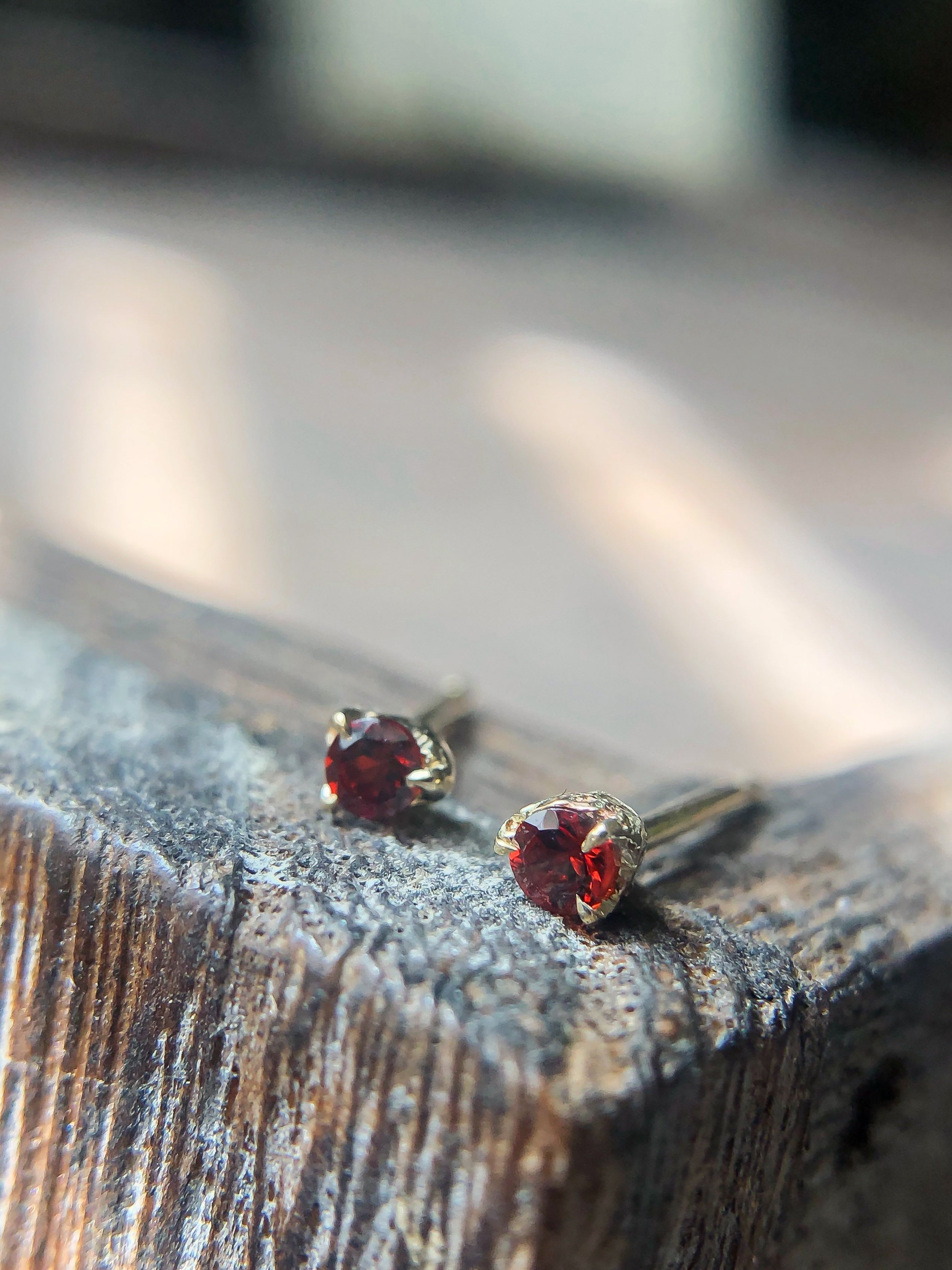 garnet-birthstone-earrings