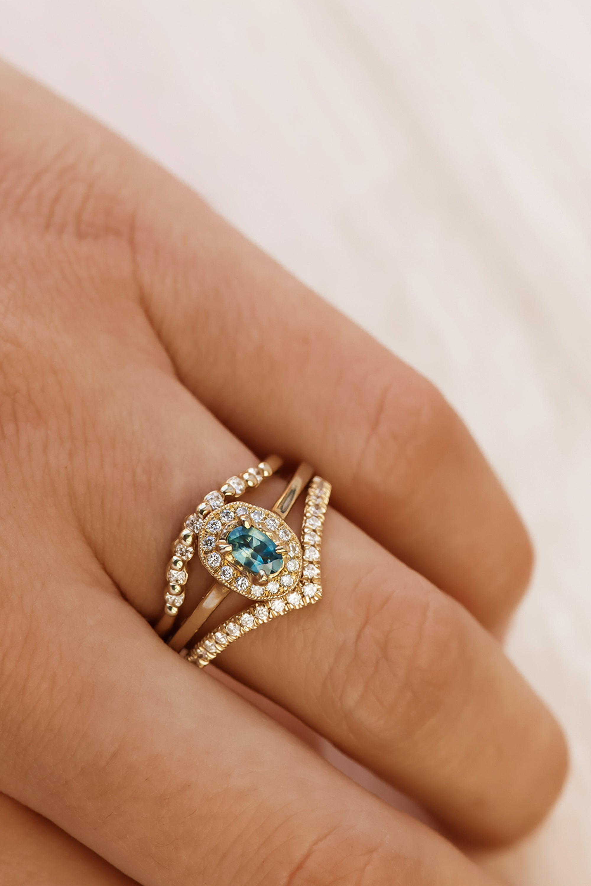 stackable-wedding-rings-engagement-ring-stack
