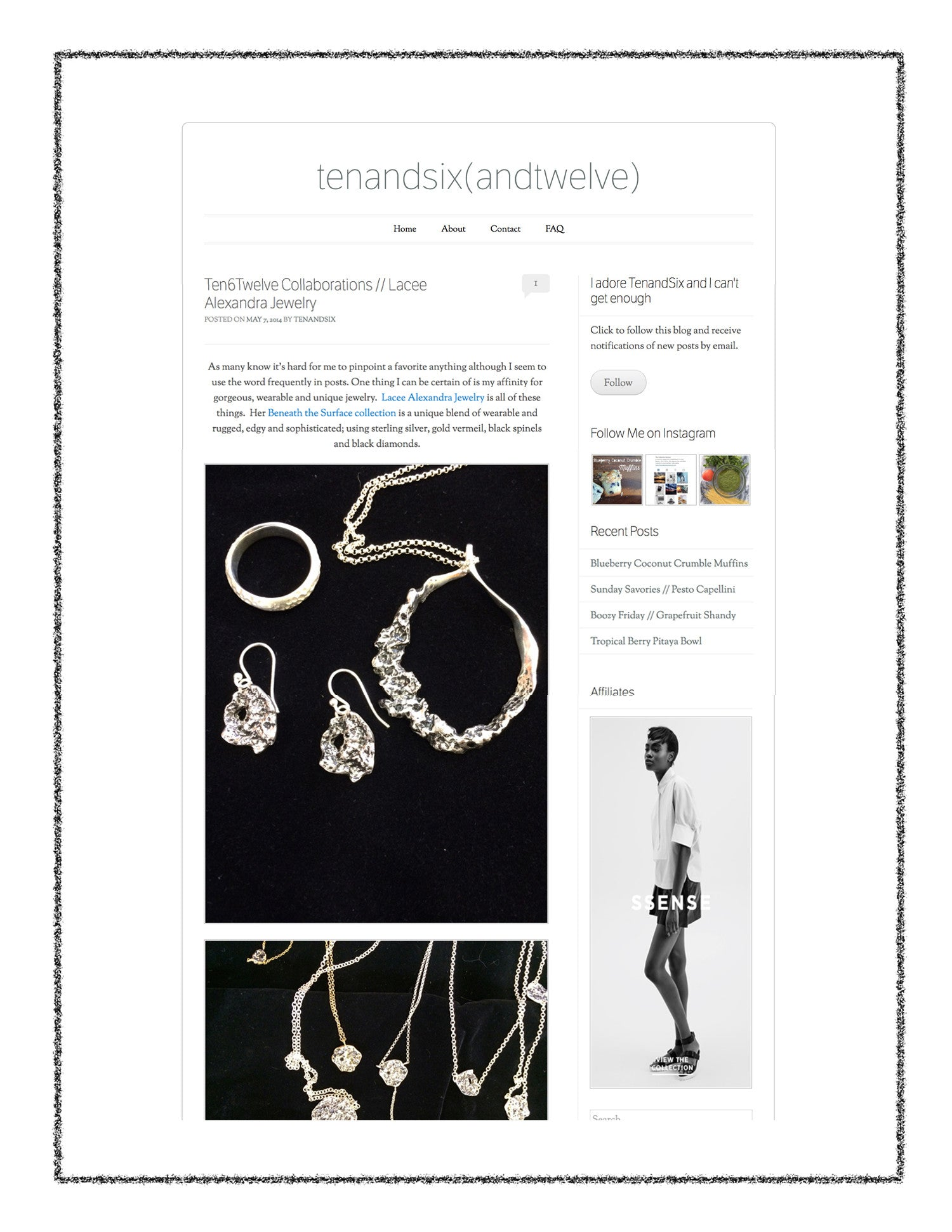 Lacee Alexandra Jewelry Press