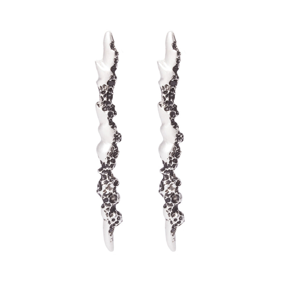 Staggered Studs - Sterling Silver