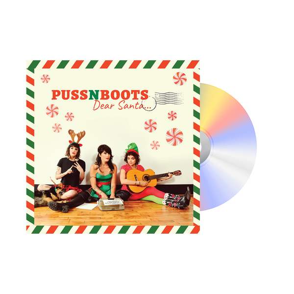 "Puss N Boots ""Dear Santa..."" CD + Ornament - Norah Jones"