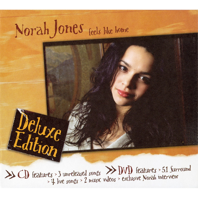 Feels Like Home Deluxe CD/DVD - Norah Jones Store