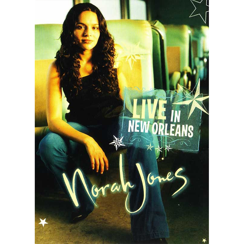 Live In New Orleans DVD - Norah Jones