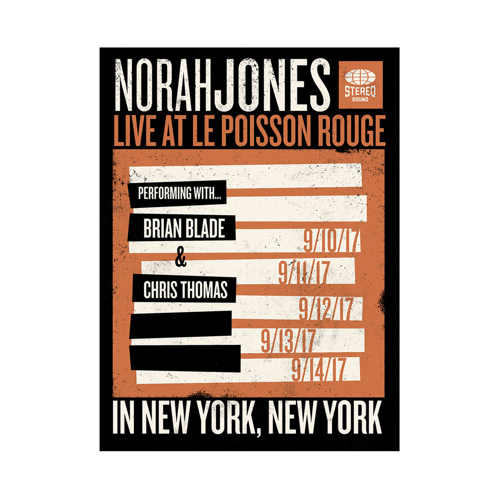 Live At Le Poisson Rouge Poster - Norah Jones