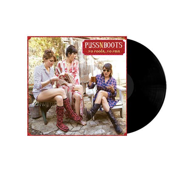 Puss N Boot: No Fools, No Fun Vinyl - Norah Jones Store - 2