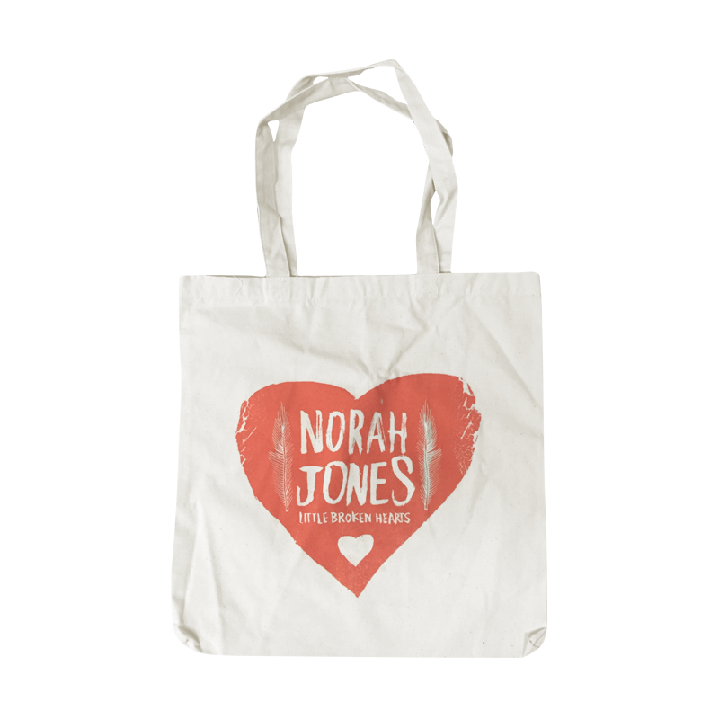 Folk Heart Tote Bag - Norah Jones