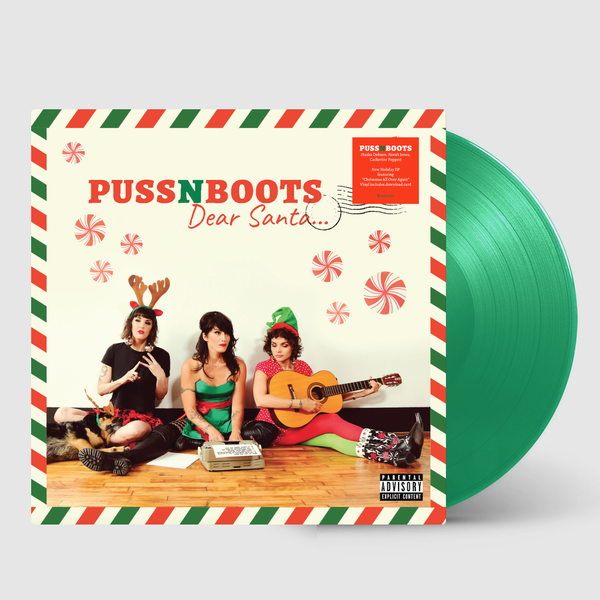 "Puss N Boots ""Dear Santa..."" Vinyl + Ornament - Norah Jones"