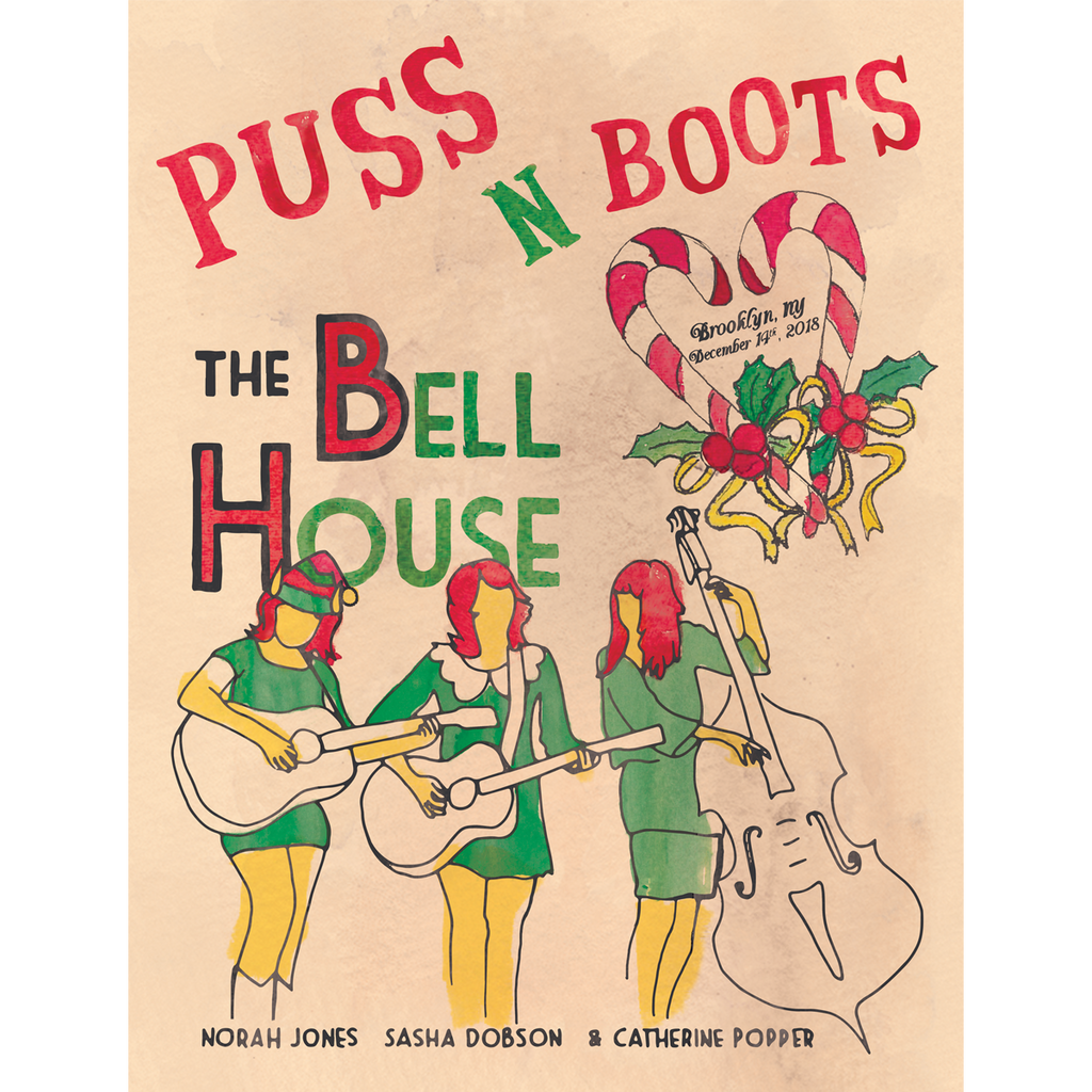 Puss N Boots Event Poster - Norah Jones