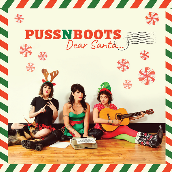 "Puss N Boots ""Dear Santa..."" CD - Norah Jones"