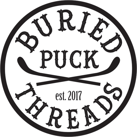 Round Buried Puck Threads Sticker