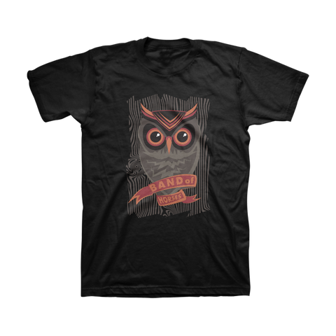 Owl Unisex Tee - Band of Horses