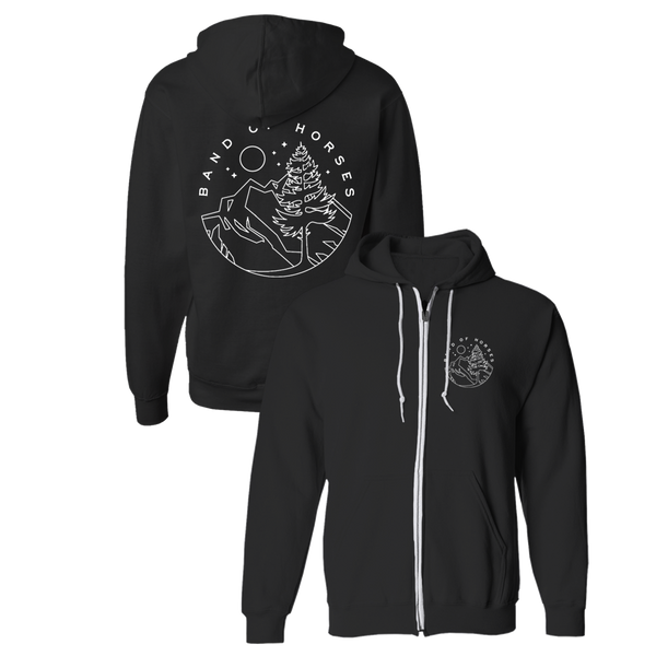 Black Alpine Hoodie - Band of Horses Store