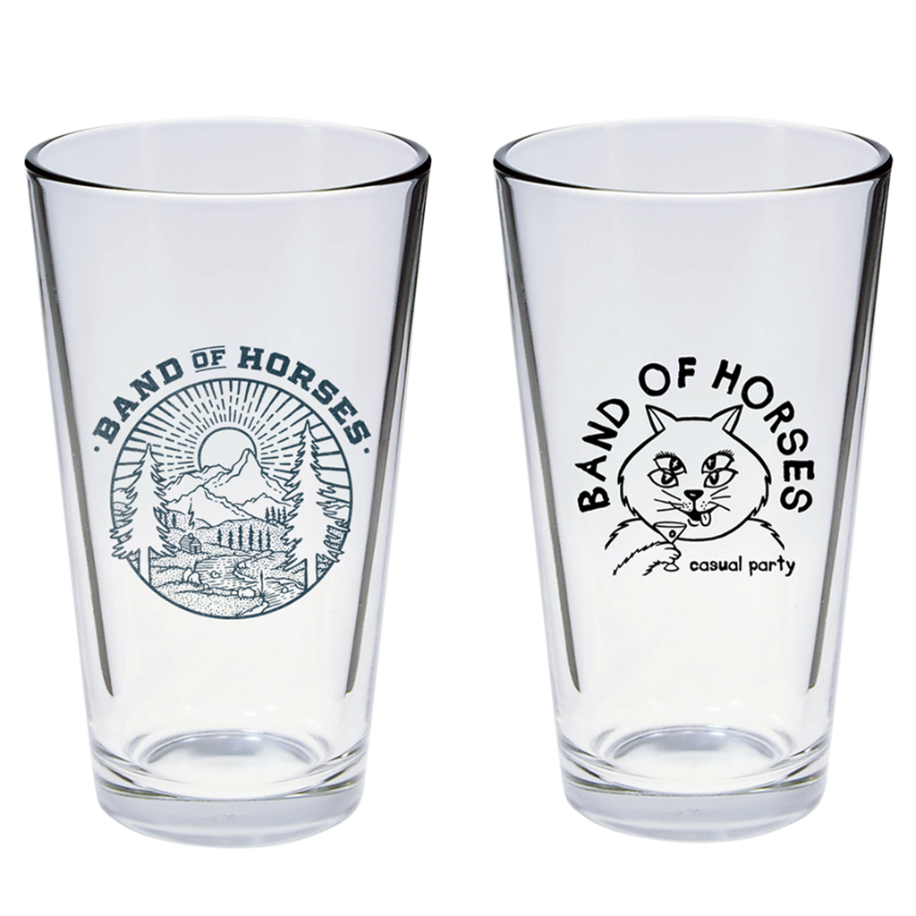 Pint Glass Set of 2 - Band of Horses Store