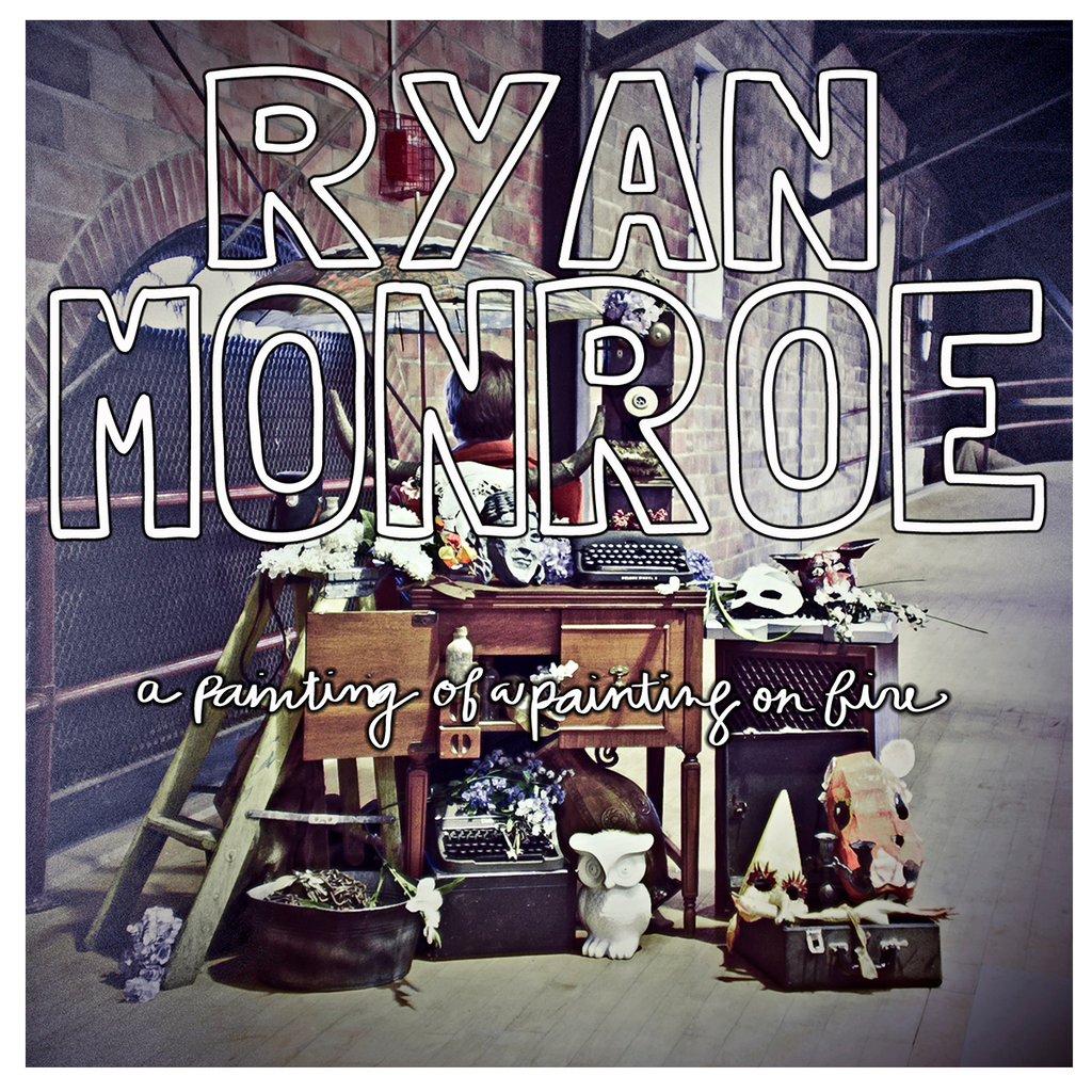 Ryan Monroe - A Painting of a Painting on Fire - Band of Horses Store