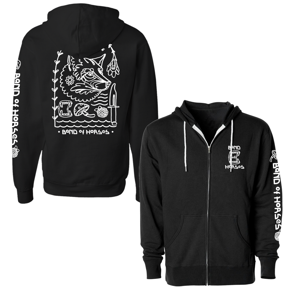 Teeth Hoodie - Band of Horses Store