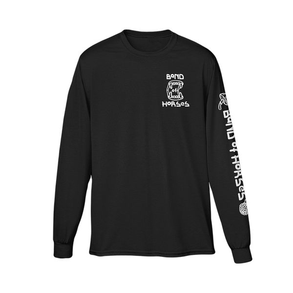 Teeth Long Sleeve Tee - Band of Horses Store